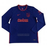 Camiseta Atletico Madrid 2ª Manga Larga 2020-2021