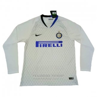 Camiseta Inter Milan 2ª Manga Larga 2018-2019