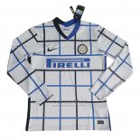 Camiseta Inter Milan 2ª Manga Larga 2020-2021