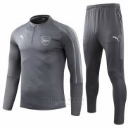 Chandal del Arsenal 2018-2019 Gris