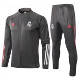 Chandal de Chaqueta del Real Madrid 2020-2021 Gris