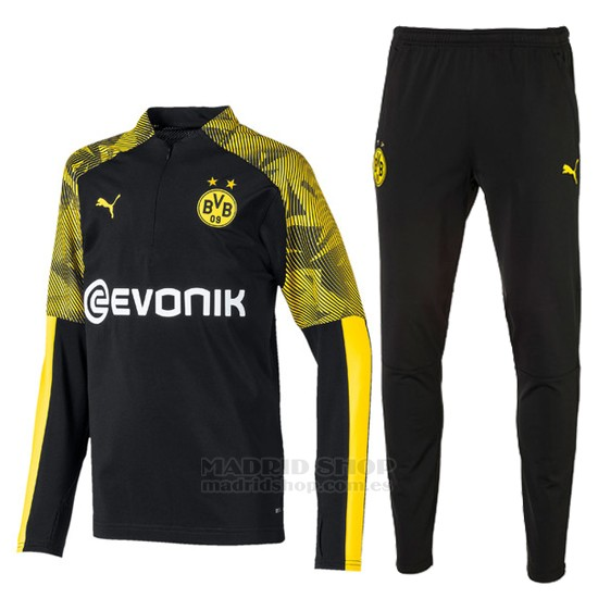 Chandal del Borussia Dortmund 2019-2020 Negro - madridshop