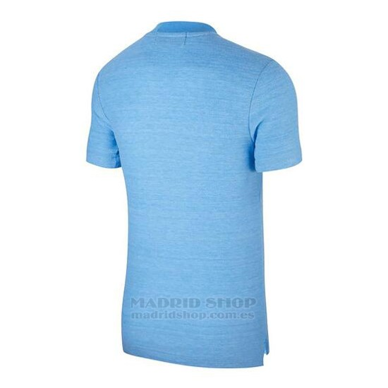 Polo Manchester City 2018-2019 Azul