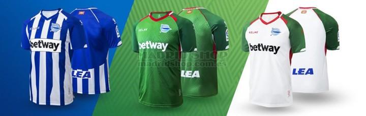 camisetas de futbol Alaves baratas