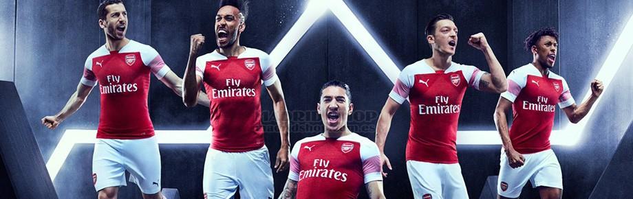 camisetas de futbol Arsenal baratas