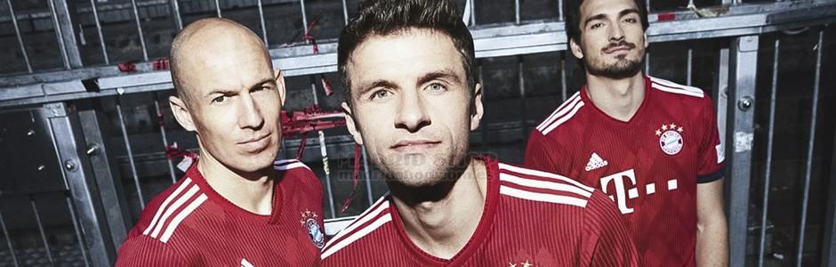 camisetas de futbol Bayern Munich baratas