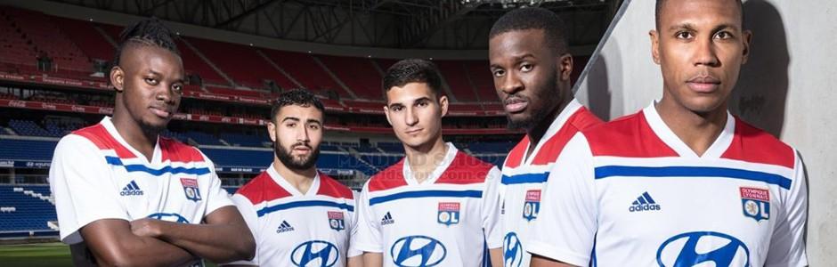 camisetas de futbol Lyon baratas