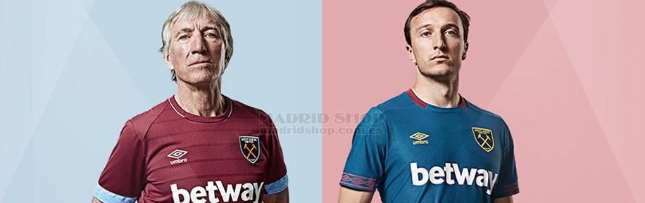 camisetas de futbol West Ham baratas